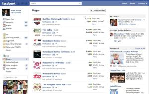 Facebook Overview Page
